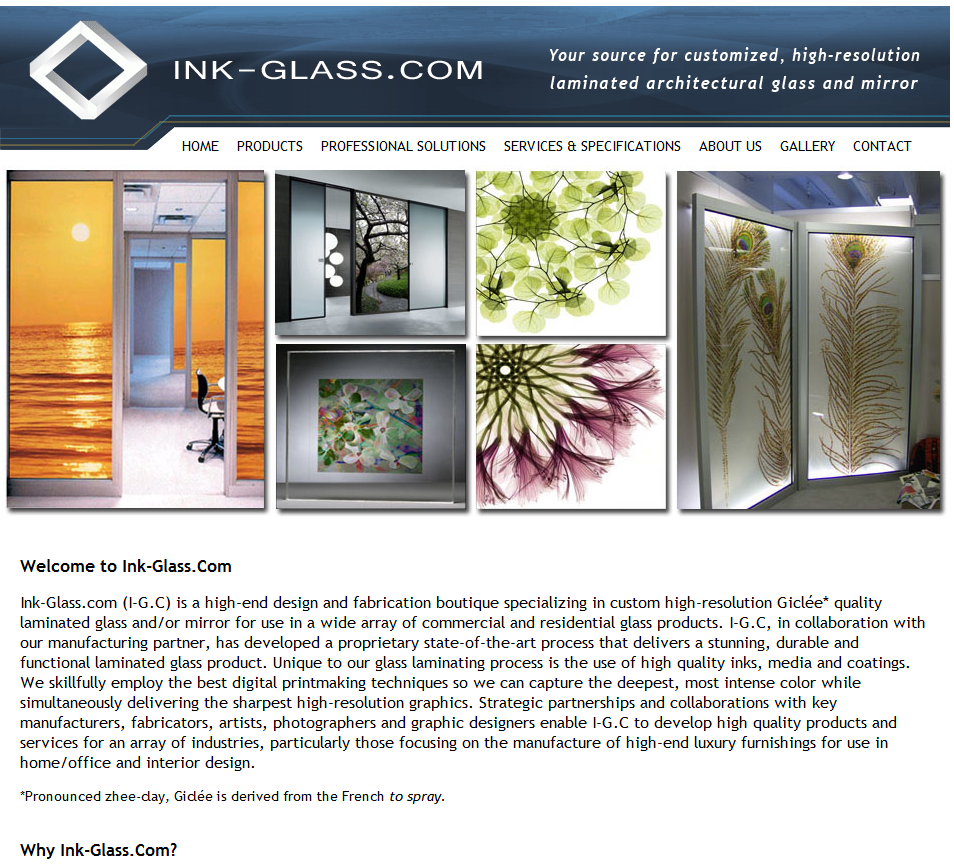 Ink-Glass.com