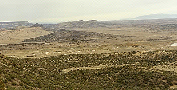 View from Bibo, New Mexico